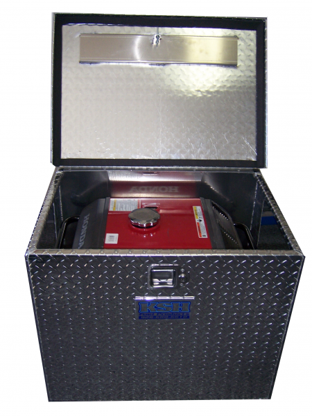 rv generator box diy