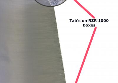 Standard RZR 1000 Storage Box Tab's